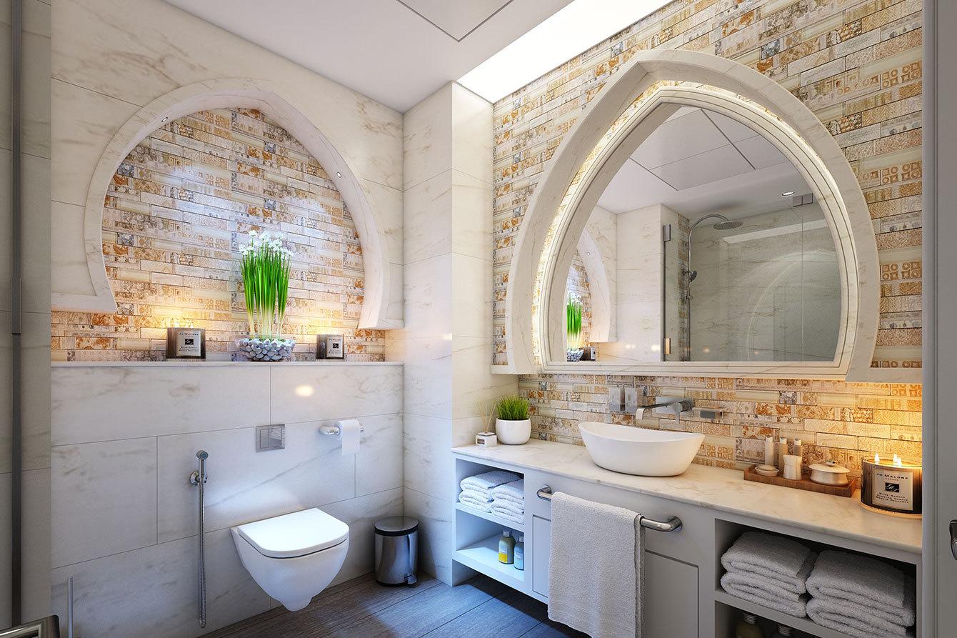 baie moderna curata
