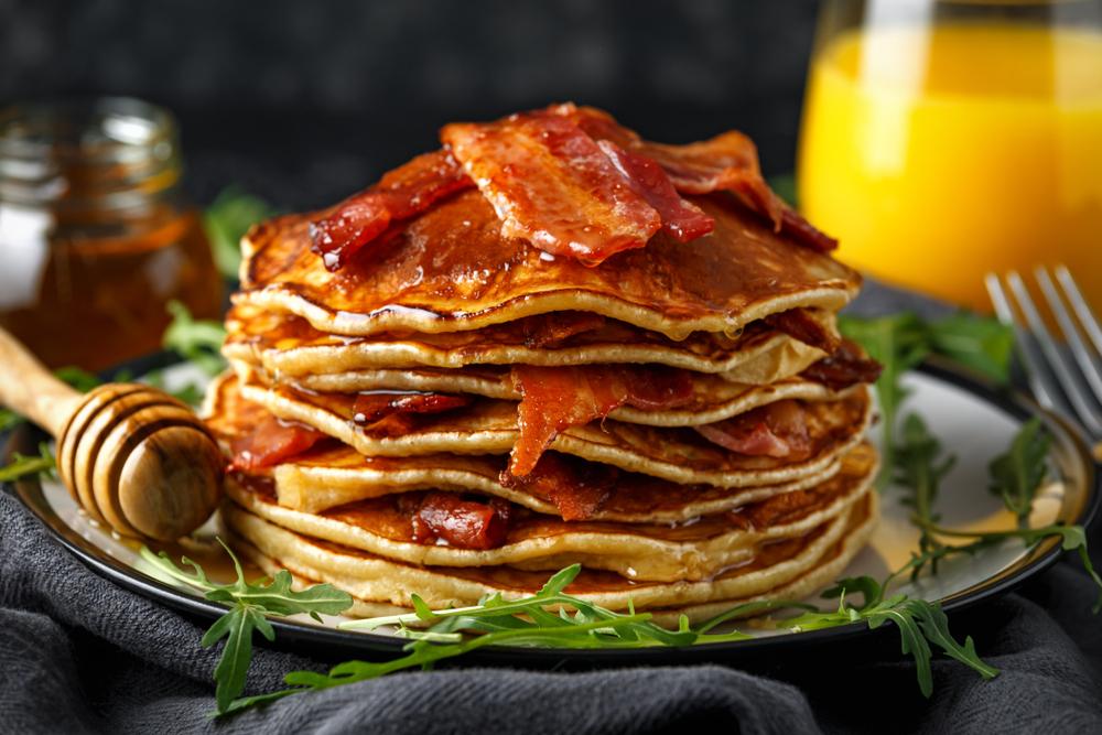 clatite americane bacon