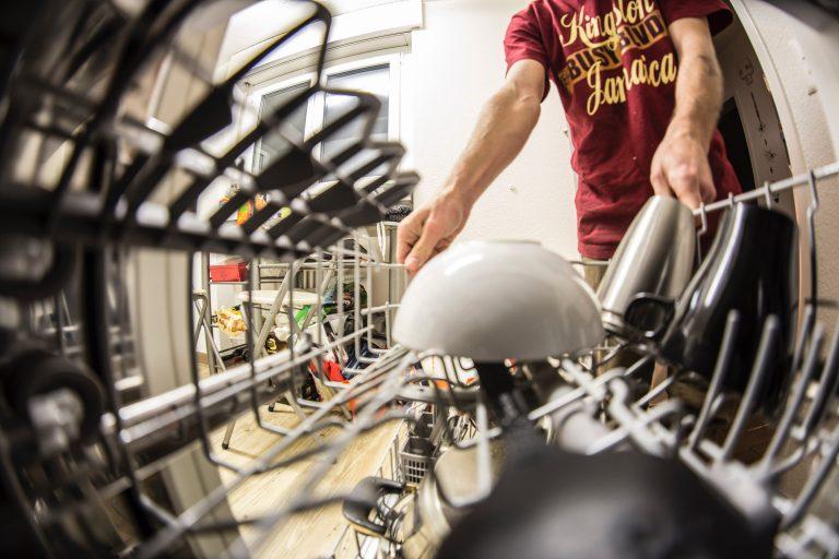 curatare masina de spalat vase