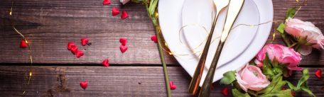 Idei si retete pentru o cina romantica organizata la tine acasa