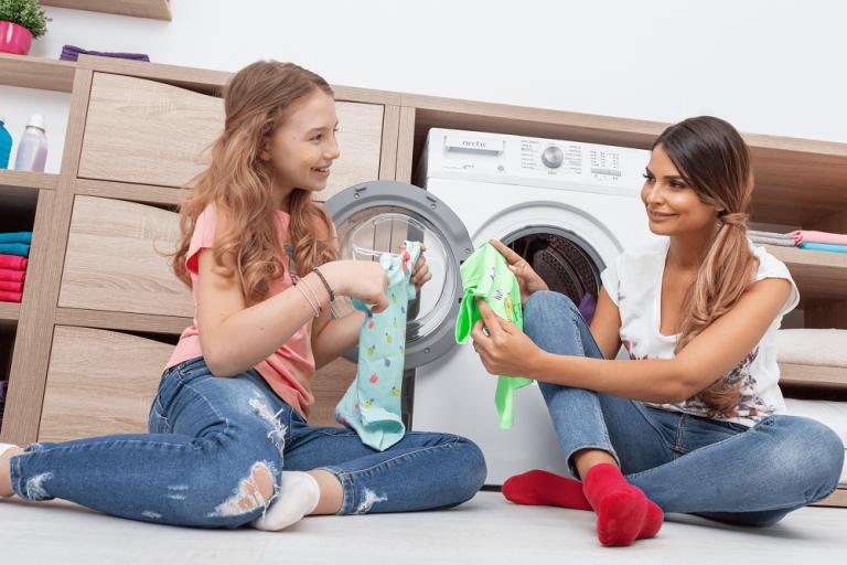 masina de spalat haine colorate
