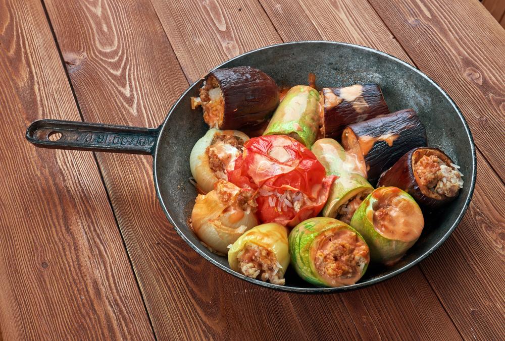 Reteta legume umplute cu carne si orez