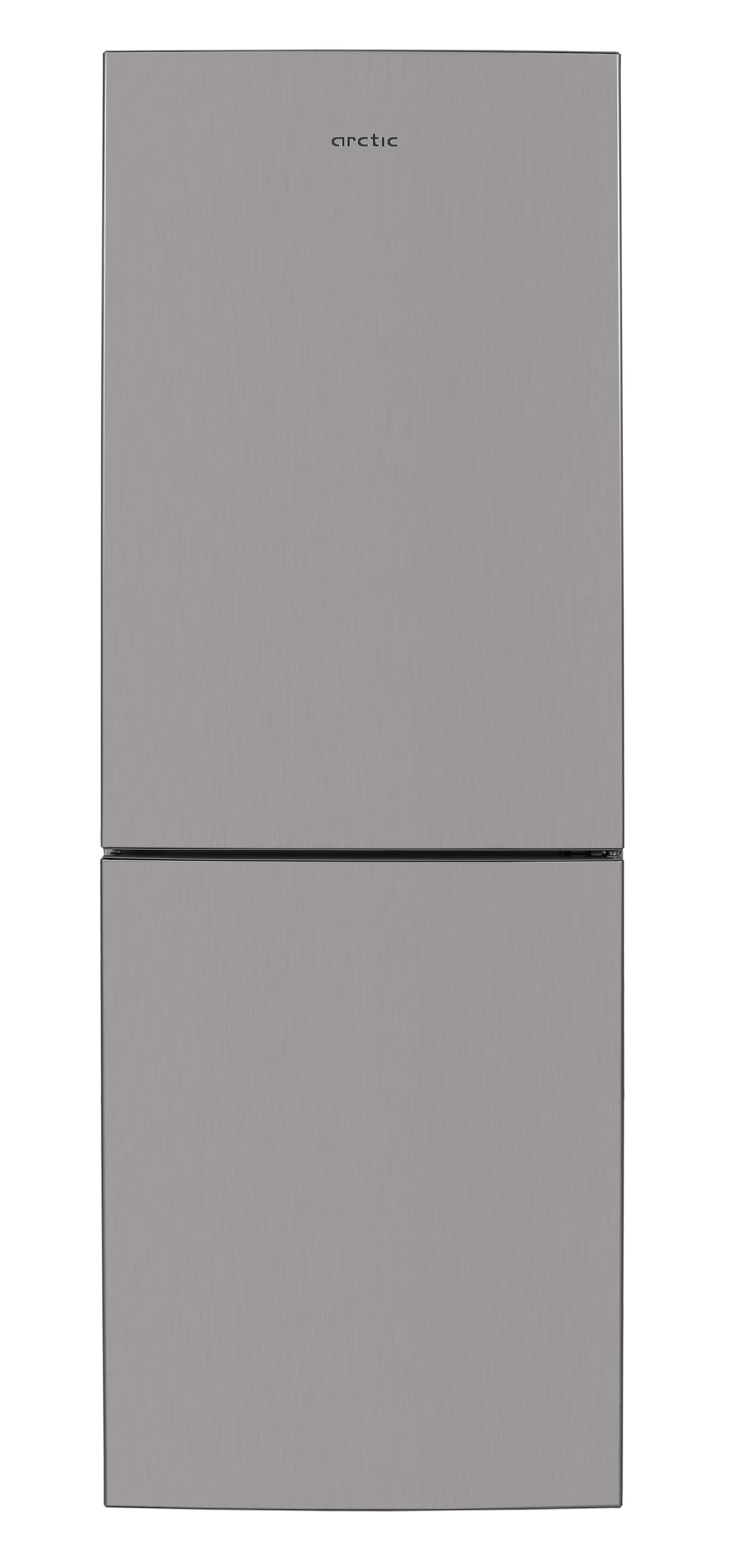 Combina frigorifica, Arctic, AK60340NFMT+, 324 l, Clasa A+, H 175.4 cm, Metal Look