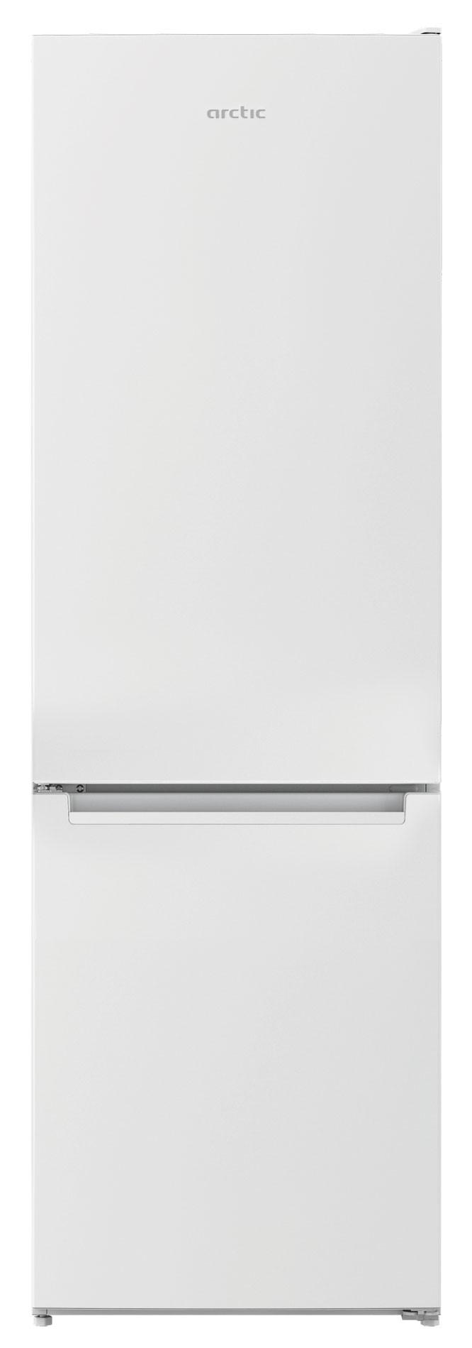 Combina frigorifica, Arctic, AK54270P+, 270 l, Clasa A+, H 170,7 cm, Alb