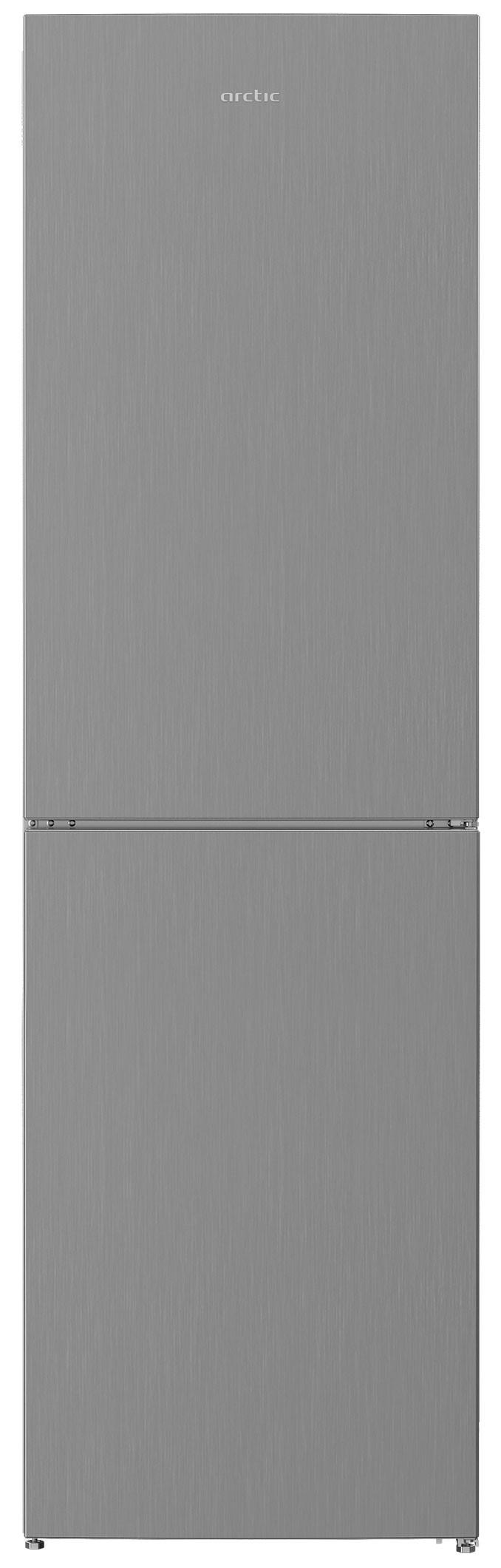 Combina frigorifica, Arctic, AK60350M30MT, 331 l, Clasa F, H 200,9 cm, Metal Look