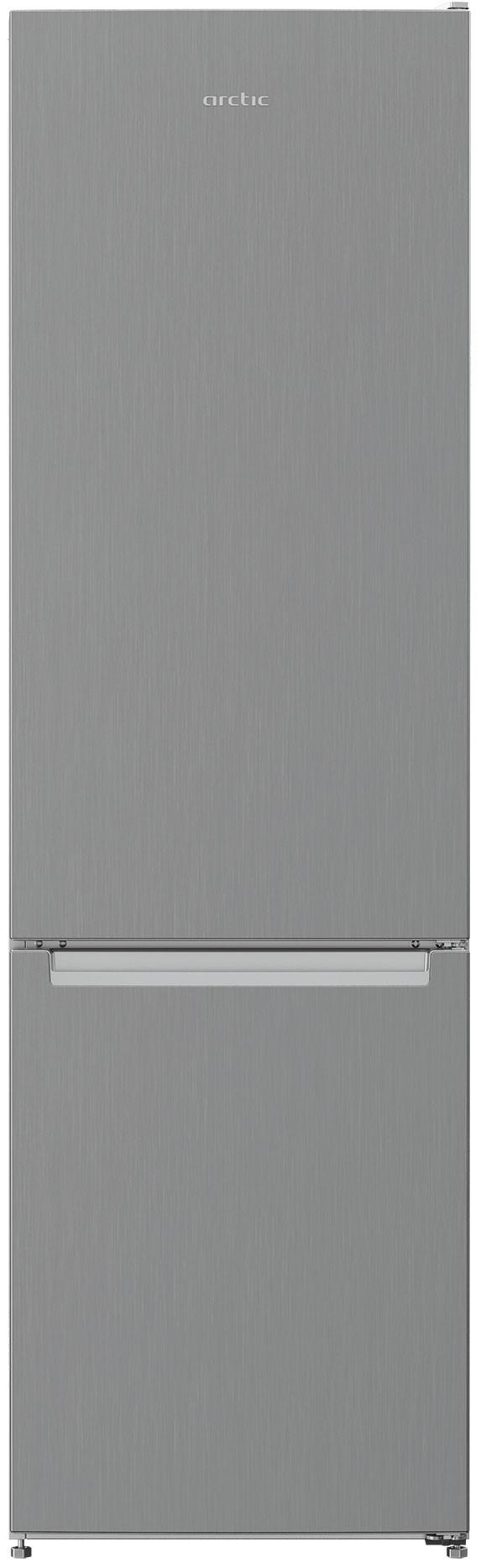 Combina frigorifica, Arctic, AK54305M30MT, 291 l, Clasa F, H 181,3  cm, Metal Look