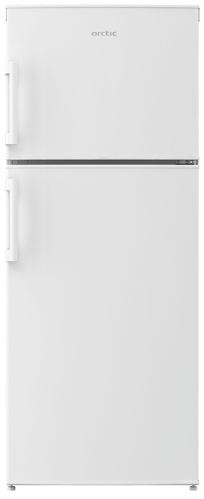 Frigider cu doua usi, Arctic, AND266+, 257 l, Clasa A+, H 151 cm, Arctic White